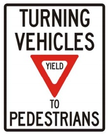 vehicles yield